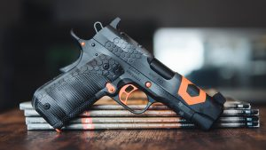 Kimber KHX Pro 1911 Pistol, MAD Custom Coating, Ballistic Magazine