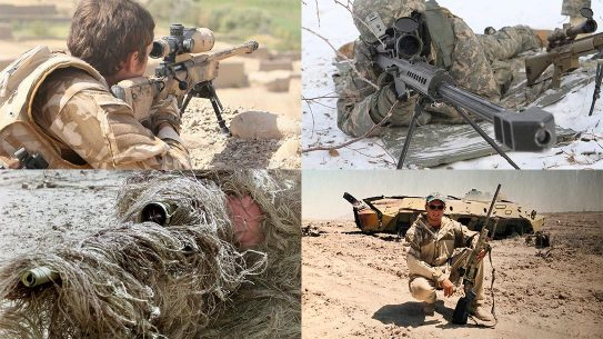 Longest Sniper Shots Military History, Battlefield Snipers
