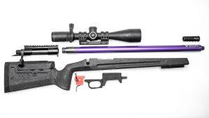 DIY Bolt-Action Rifle Build parts