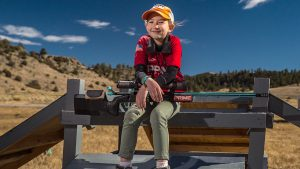 MaryBeth Olson, Long-Range Shooting, Rifle Shooting, sitting