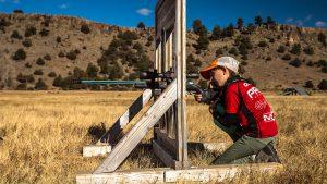 MaryBeth Olson, Long-Range Shooting, Rifle Shooting, bench
