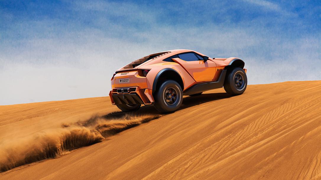 Zarooq SandRacer 500 GT, Zarooq Motors, supercar, dune buggy, sand