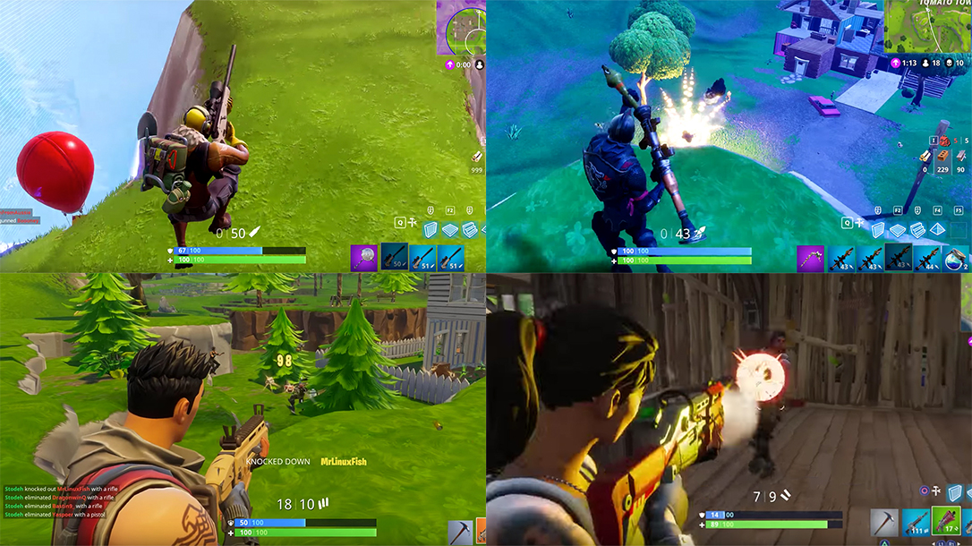 Fortnite Guns Our 5 Favorites From The World S Most Popular