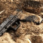 Glock 17 Pistol, Torture Test, water