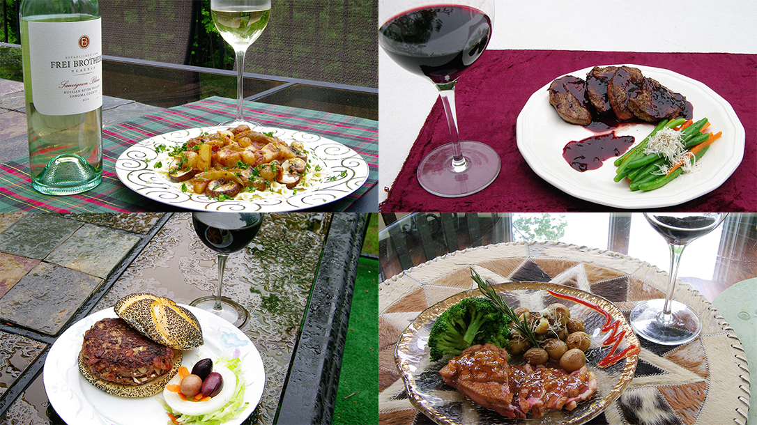 Wild Game Wine Pairings recipes
