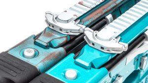 Sig Sauer MCX Rattler Pistols muscle car charging handle