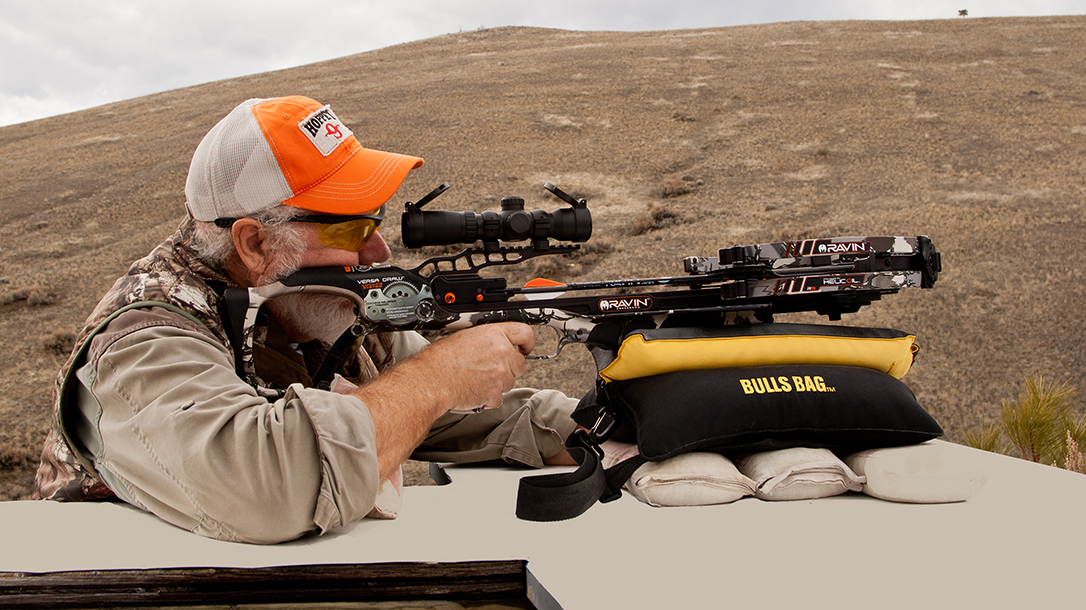 Long-Range Crossbow Shooting, Hunting Ethics, aiming