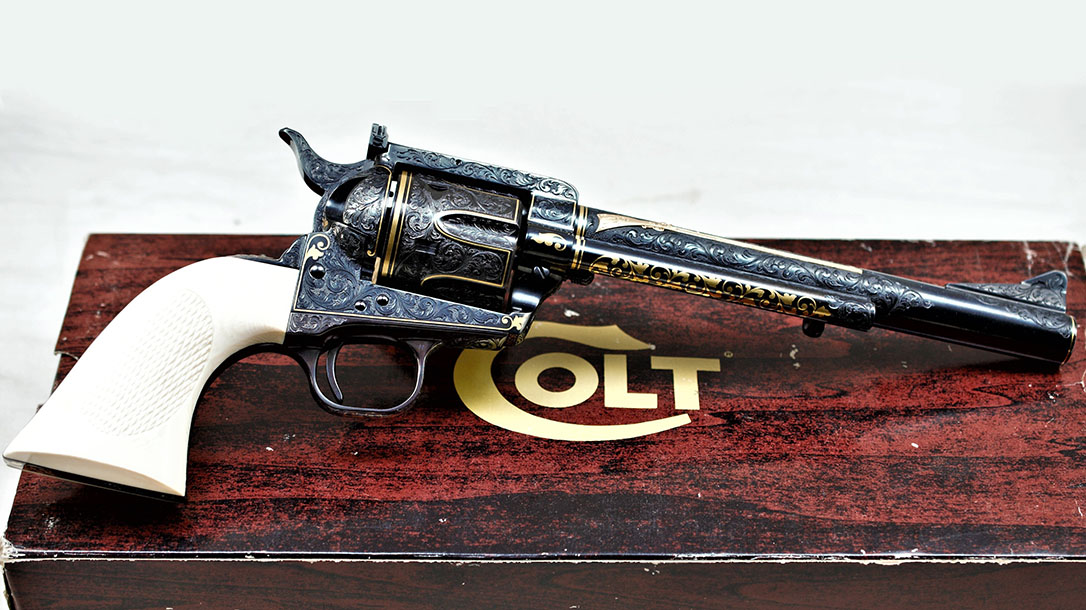 Most Expensive Guns, Alvin White's Colt New Frontier pistol profile