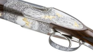 Most Expensive Guns, Fabbri Best Grade double barrel left