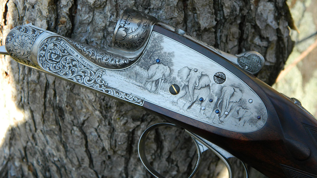 Most Expensive Guns, Holland & Holland Royal Deluxe rifle left