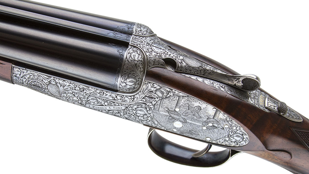 Most Expensive Guns, Purdey Extra Finish Round Action shotgun left