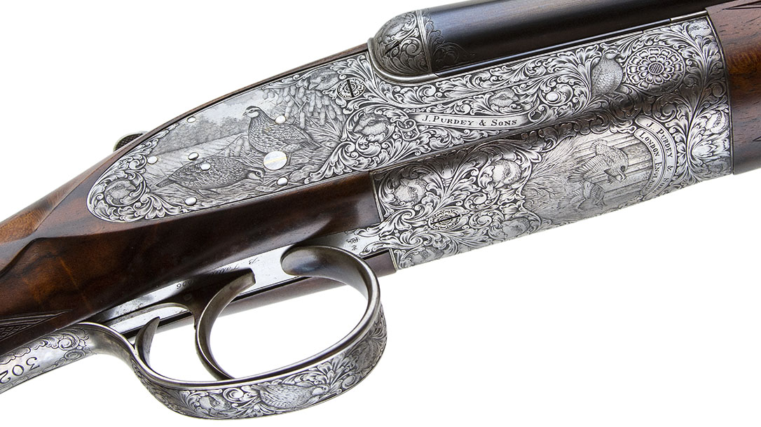 Most Expensive Guns, Purdey Extra Finish Round Action shotgun right