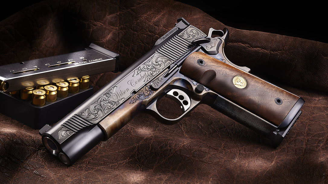 Most Expensive Guns Available, Wilson Combat Classic Supergrade Pistol left