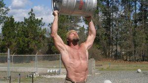 Strength Training, Pat McNamara, Working Out tips, keg