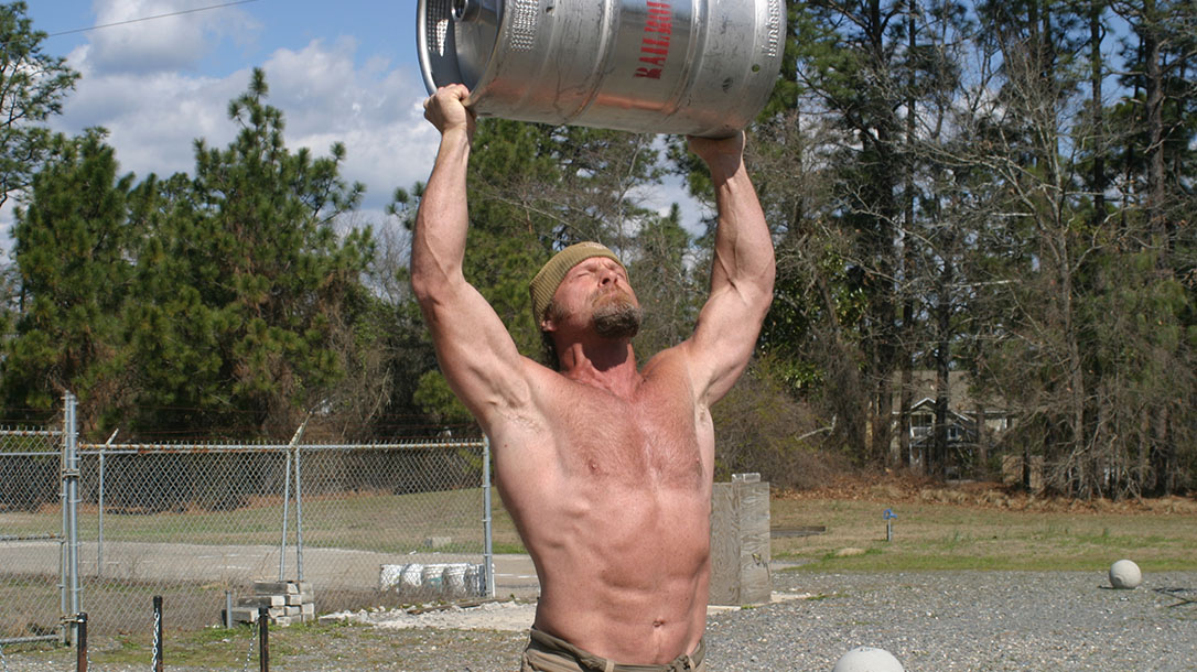 Strength Training, Pat McNamara, Working Out tips, keg