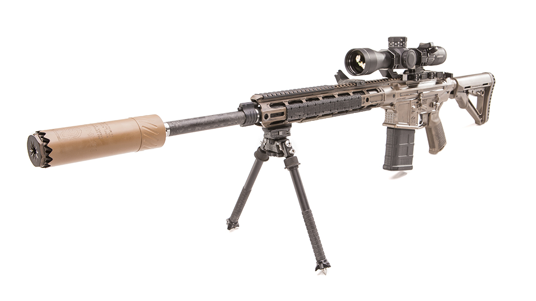 Modern Outfitters MC7 Rifle, gun test, left