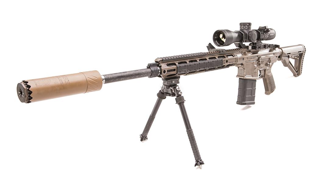 Modern Outfitters MC7 Rifle, gun test, left