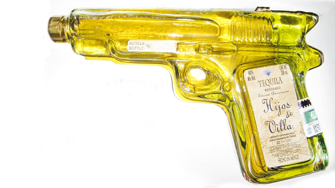 Tequila Brands, Hijos de Villa Reposado Tequila Pistol