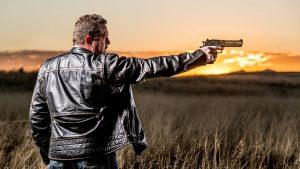 John Tiegen, John Tig Tiegen, 13 Hours, Benghazi Kahr Arms, Desert Eagle, sunset