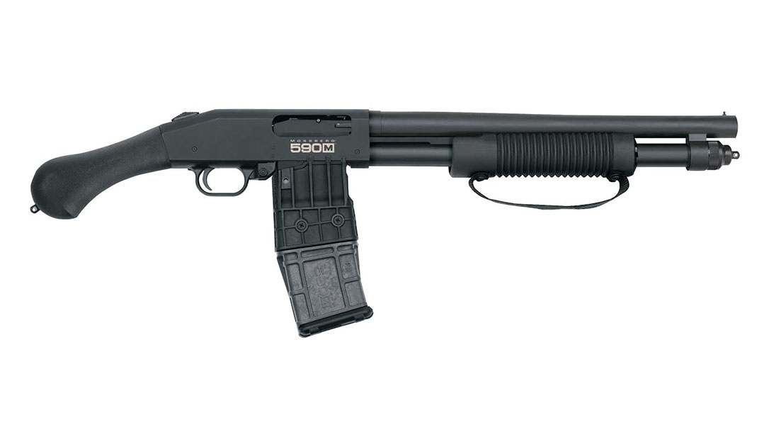 Mossberg 590M Shockwave shotgun, 12-gauge, pump-action