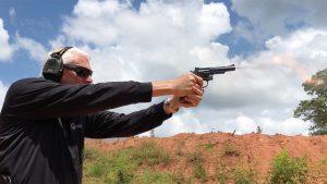 Smith & Wesson Model 19 Classic Revolver, gun range