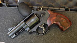 Smith & Wesson Performance Center Model 19 Carry Comp Revolver grip