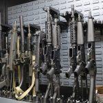 New Orleans Road Trip, Jefferson Indoor Range, gun arsenal
