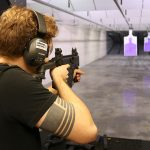 New Orleans Road Trip, Jefferson Indoor Range, aiming