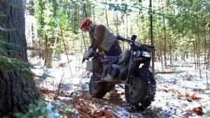 Rokon Motorcycles, forrest snow