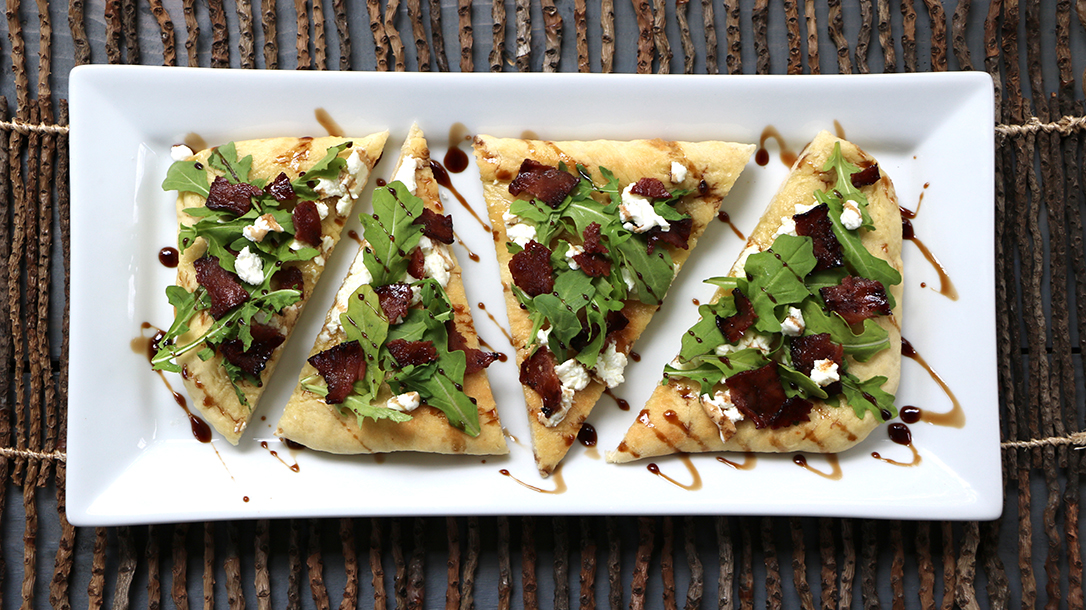 Venison Recipes, Venison Bacon Flatbread