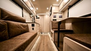 EarthRoamer RV seating