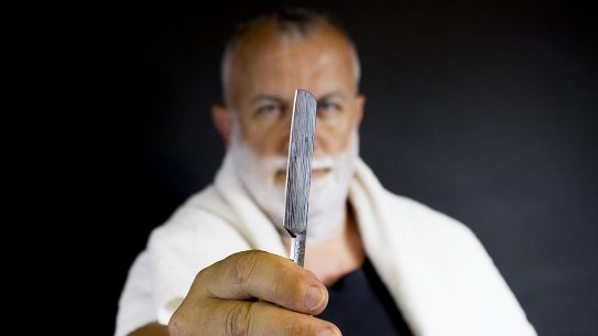 Straight Razors, shaving, blade