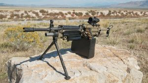 Machine Gun Armory M249 SAW range