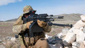 Machine Gun Armory MK46 GEN-3 aiming