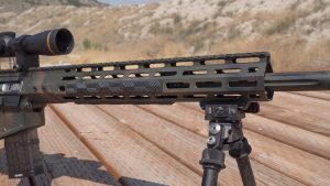 Wilson Combat 458 HAM'R Tactical Hunter rifle, rail