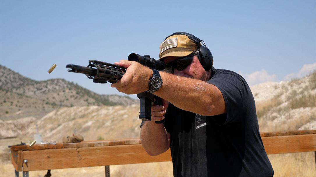 Wilson Combat 458 HAM'R Tactical Hunter rifle, unsuppressed