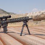 Wilson Combat 458 HAM'R Tactical Hunter rifle, profile