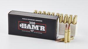 Wilson Combat 300 HAM'R Ammo, ammo box, cartridge