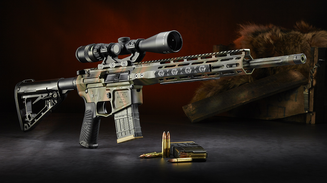 Wilson Combat 300 HAM'R, Tactical Hunter Rifle, profile