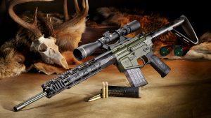 Wilson Combat 300 HAM'R, Ultralight Hunter Rifle, profile