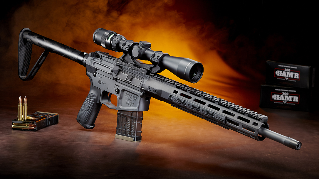 Wilson Combat 300 HAM'R, Ultralight Ranger Rifle, profile