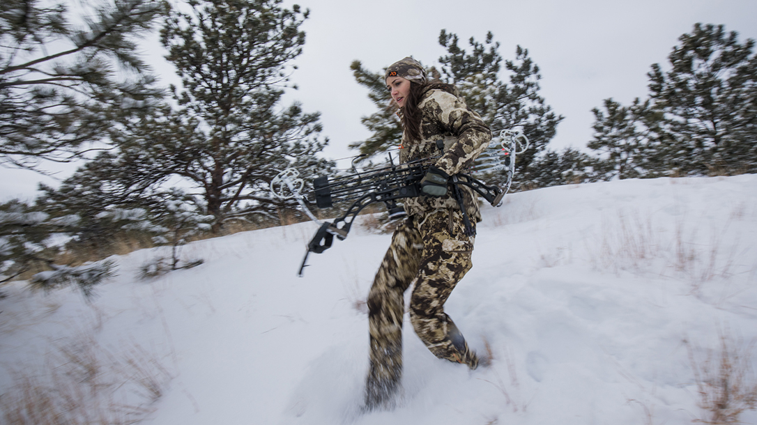 High Bar Homestead Wyoming, Lauren Young, compound bow