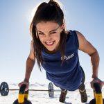 High Bar Homestead Wyoming, Lauren Young, pushup