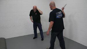 Pistol Whip Technique, self-defense, Step 2