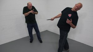 Pistol Whip Technique, self-defense, Step 6
