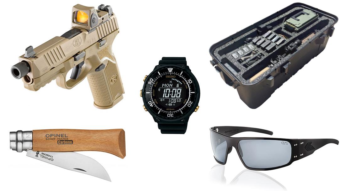 Gear Grab: FN 509 Tactical Pistol, Double Gun Storage