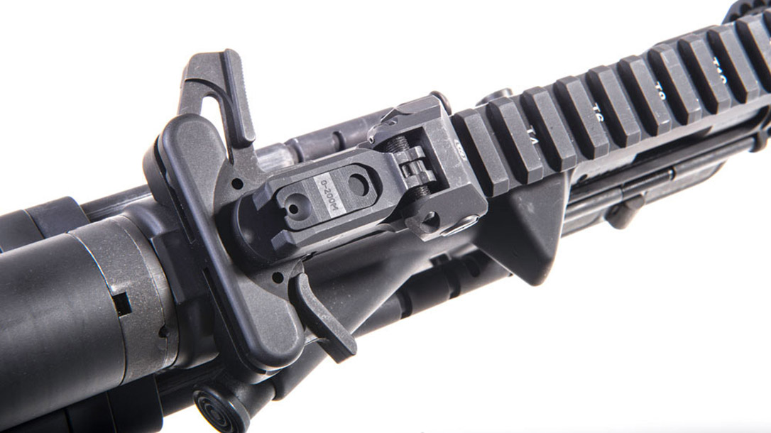 Ballistic Gear Grab, Troy SOCC CQB Carbine, charging handle