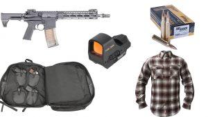Ballistic Gear Grab, Holosun HS510C sight, Troy SOCC CQB Carbine, Sig Sauer 308WIN