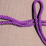 Rope Knots, Figure 8, Step 1