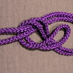 Rope Knots, Figure 8, Step 2